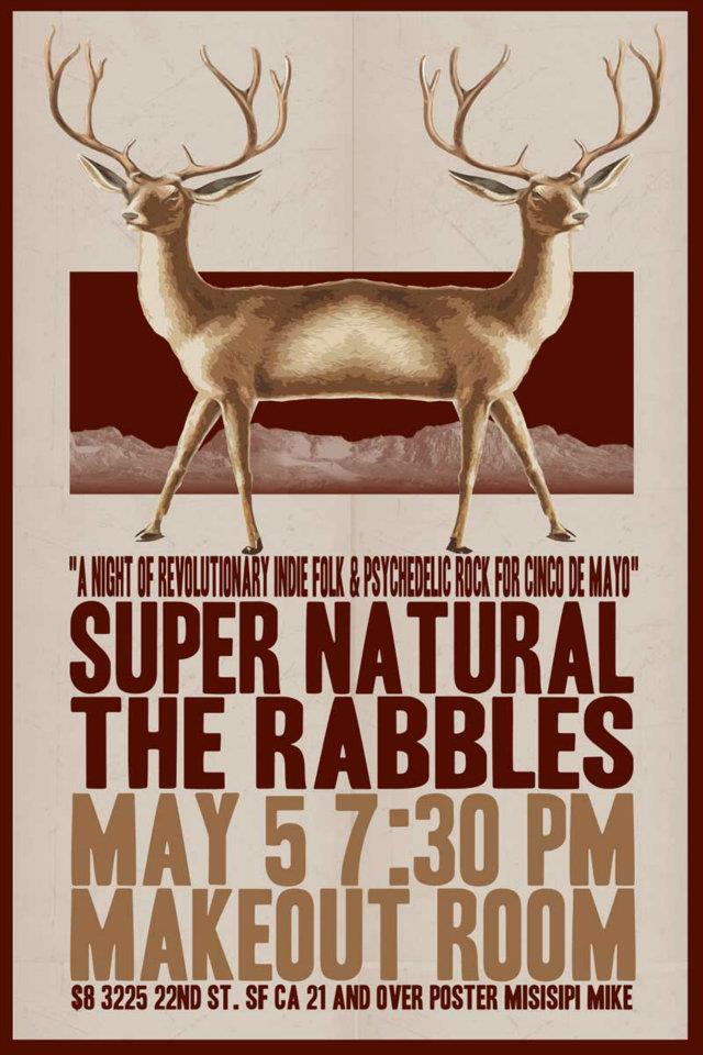 Rabbles/SuperNatural May 5th 2012