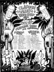Rabbles play at 6:00 Valencia Stage, 10/26/13
